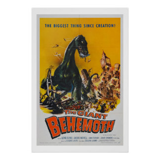 The Giant Behemoth (xl) Poster