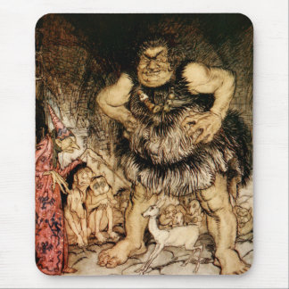 The Giant Galligantua and the Wicked Old Magician Mouse Pad