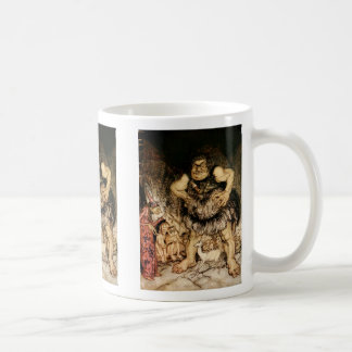 The Giant Galligantua and the Wicked Old Magician Classic White Coffee Mug