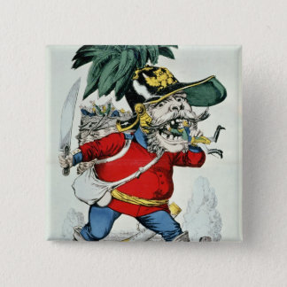 The Giant German Ogre Pinback Button