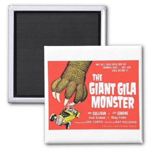 """""""The Giant Gila Monster"""" Magnet"""