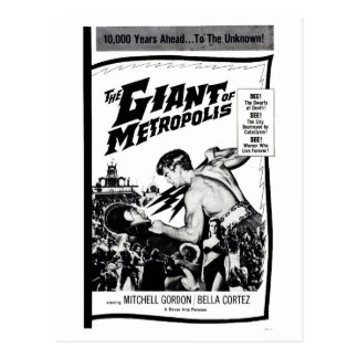 """The Giant of Metropolis"" Postcard"