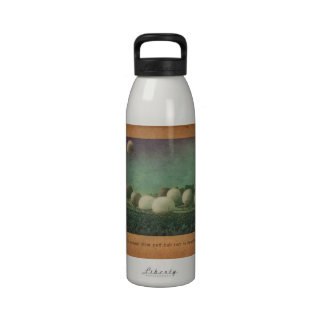 The Giant Puff Ball Race Reusable Water Bottle