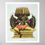 The Giant Ravana (colour litho) Poster