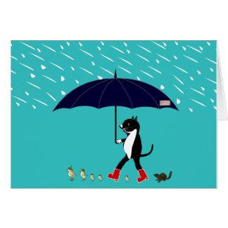 The Giant Umbrella Card