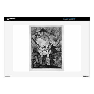 "The Giant Wheel by Giovanni Battista Piranesi Decal For 15"" Laptop"