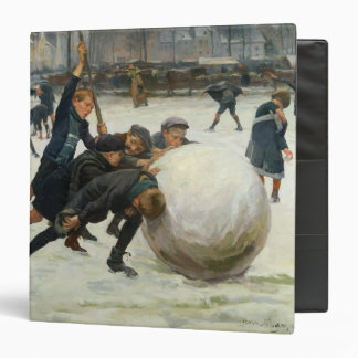 The Giantest Snowball, 1903 3 Ring Binder