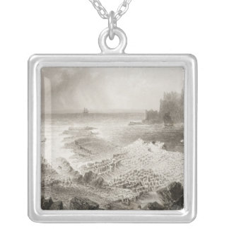 The Giant's Causeway from above Custom Jewelry