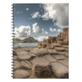 The Giant's Causeway, Northern Ireland Spiral Notebooks
