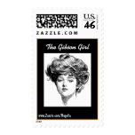 The Gibson Girl stamp