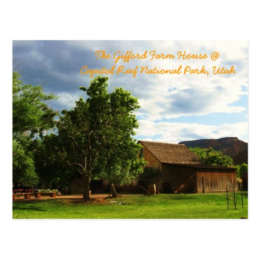 The Gifford Farm House Postcard