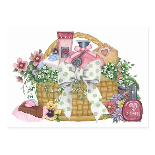 The Gift Basket Srf Large Business Cards Pack Of 100