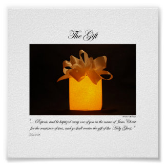 The Gift - By Rebecca Huffman (6x6) Poster