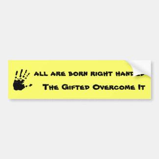 The Gift Car Bumper Sticker