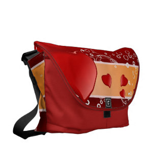 The Gift of a Heart Messenger Bag
