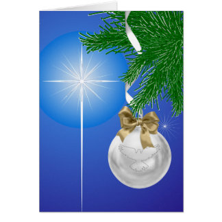 The Gift of Christmas Holiday Greeting Card