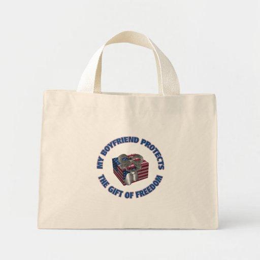 The Gift Of Freedom Boyfriend Bag