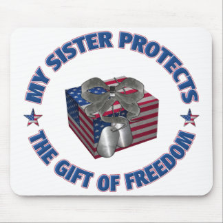 The Gift Of Freedom - Sister Mouse Pad