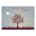The gift of Peace Greeting Cards
