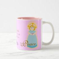 The Gift Of Peace On A Mug-Customize Two-Tone Coffee Mug