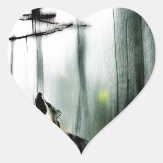 the gift of suffering.jpg heart sticker