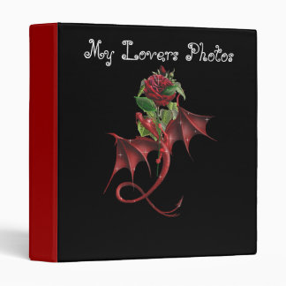 The Gift Of The Dragon - Photoalbum For Lovers 3 Ring Binders