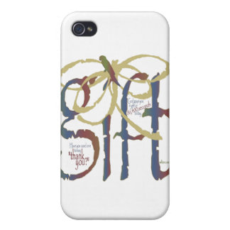 The Gift of Time Cover For iPhone 4