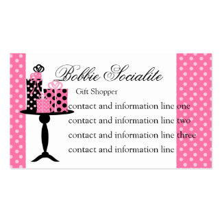 The Gift Table Business Card Templates