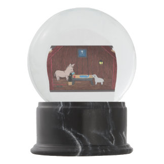 THE GIFTS SNOW GLOBE