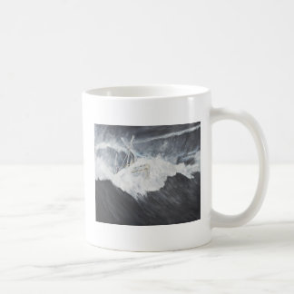 The Gigantic Wave Classic White Coffee Mug