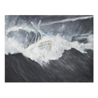 The Gigantic Wave Postcard