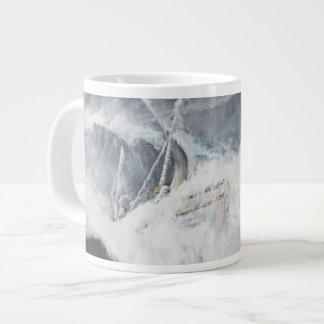 The Gigantic Wave 20 Oz Large Ceramic Coffee Mug