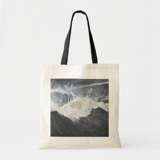 The Gigantic Wave Tote Bag