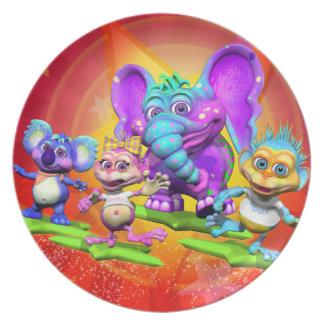 The GiggleBellies Star Fun Plate