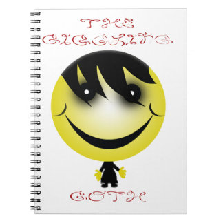 the giggling goth notebook