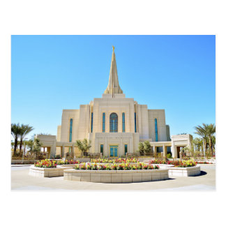The Gilbert Arizona LDS Temple Postcard