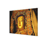 The gilded Jowo Buddha Statue, Jokhang Temple, Stretched Canvas Prints