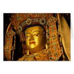 The gilded Jowo Buddha Statue, Jokhang Temple, Card