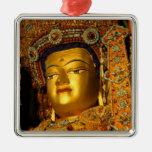 The gilded Jowo Buddha Statue, Jokhang Temple, Metal Ornament