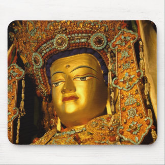 The gilded Jowo Buddha Statue, Jokhang Temple, Mouse Pad