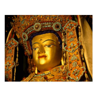 The gilded Jowo Buddha Statue, Jokhang Temple, Post Cards