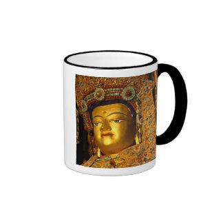 The gilded Jowo Buddha Statue, Jokhang Temple, Ringer Mug