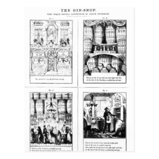 The Gin Shop Postcard