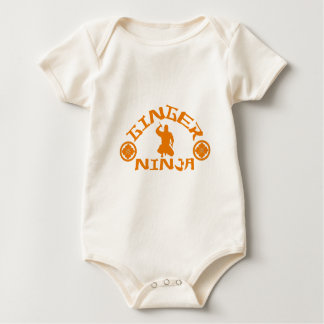 The Ginger Ninja Baby Bodysuit