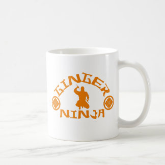 The Ginger Ninja Coffee Mug