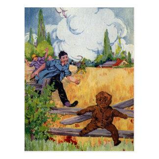 The Gingerbread Boy Escapes Postcard