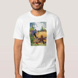 The Gingerbread Boy Escapes T-shirt