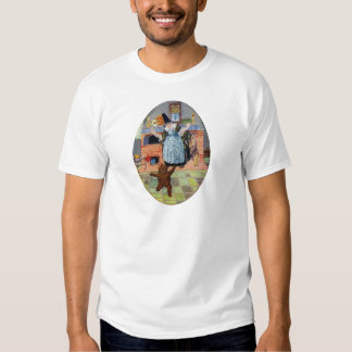 The Gingerbread Boy Jumps Out of the Oven Tee Shirt