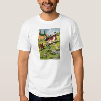 The Gingerbread Boy & the Cow T Shirt