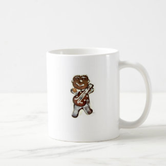 The Gingerbread Man Rocks Classic White Coffee Mug